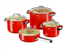 avs_p30 Silit Cookware Set Red