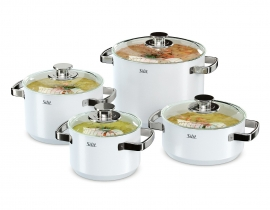 Silit Cookware Set White