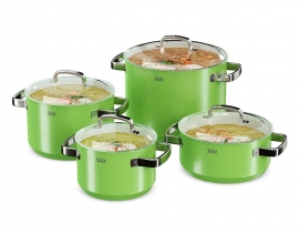 Silit Cookware Set Green