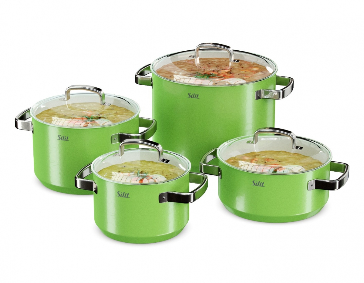 Avs P28 Silit Cookware Set Green Ars Visual Store